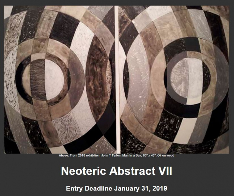 SlowArt Productions Neoteric Abstract VII Art exhibition, SlowArt Productions