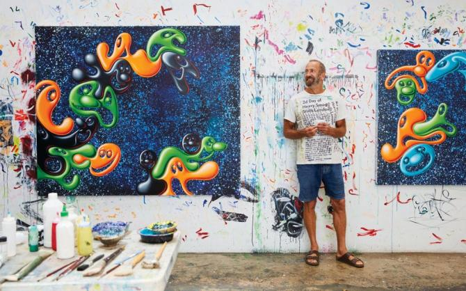 Kenny Scharf : ANXIOUSLY OPTIMISTIC