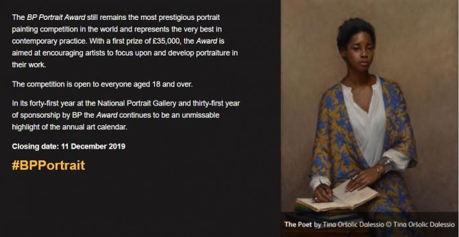 BP Portrait Award 2020