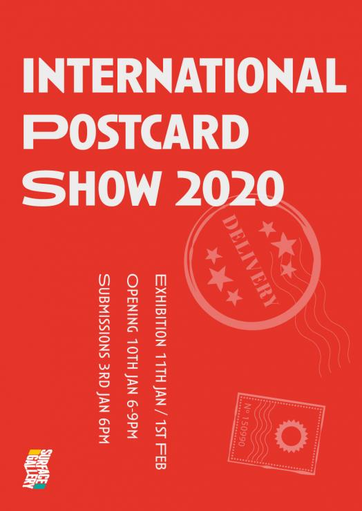 INTERNATIONAL POSTCARD SHOW 2020: CALL FOR SUBMISSIONS