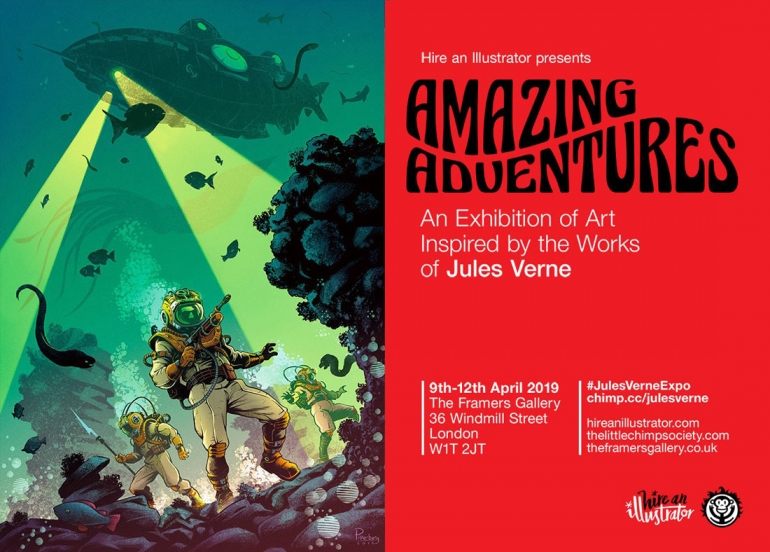 Amazing Adventures: Art Inspired by the Works of Jules Verne
