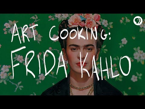 The Art and Cooking of each Artist: Frida Kahlo, Salvador Dali, Georgia O'Keeffe, Vincent Van Gogh & More