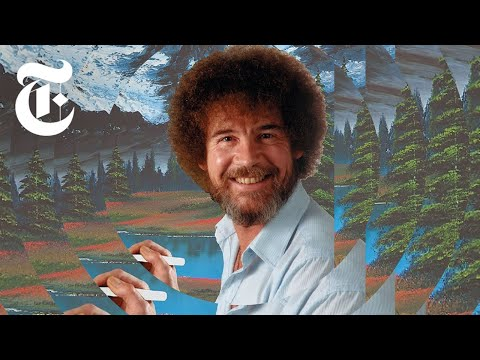 Bob Ross painted more than 1,000 landscapes for his television show.