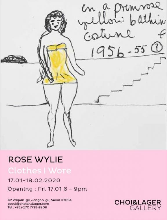 ROSE WYLIE : CLOTHES I WORE