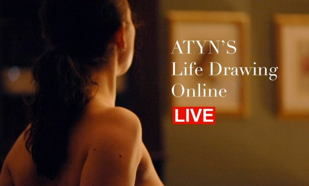 Life Drawing Club Online | All the Young Nudes