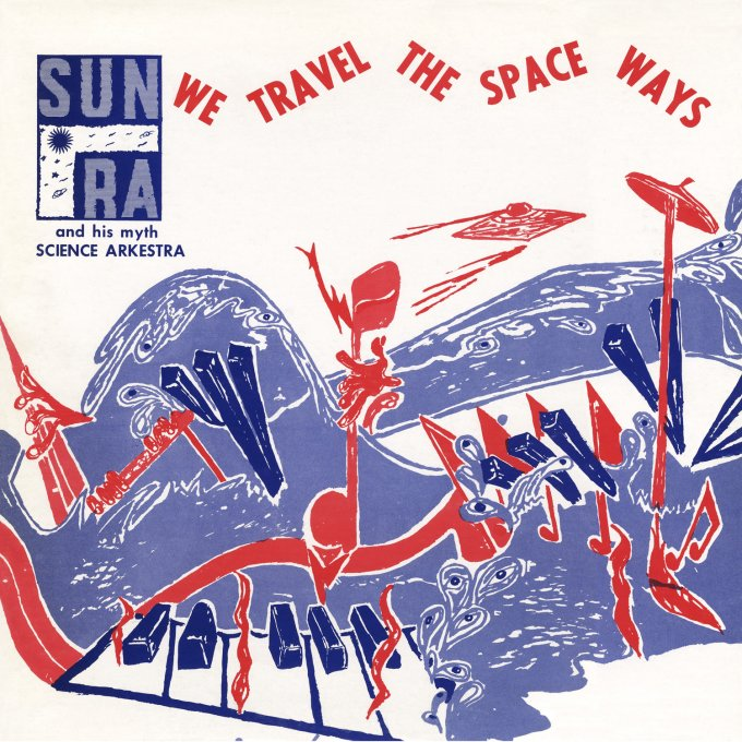 What Vinyl Cover Designs Can Tell Us of the Afrofuturistic Vision of Sun Ra