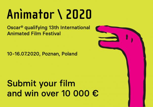 ANIMATOR Festival 2020, Submit Now!