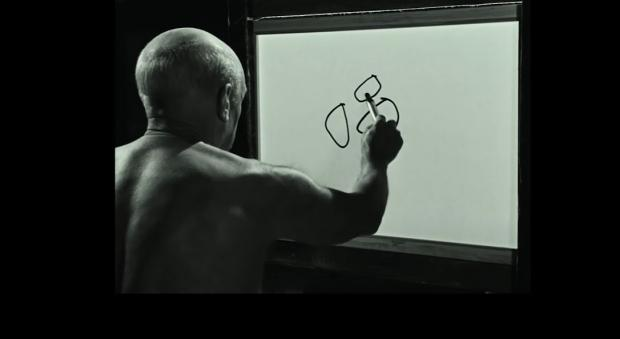 Watch Picasso Make a Masterpiece in Five Minutes