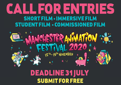 Manchester Animation Festival 2020 + CALL FOR ENTRIES