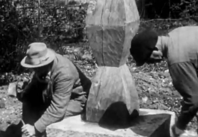 Brâncuși Captures His Sculpture & Life on Film