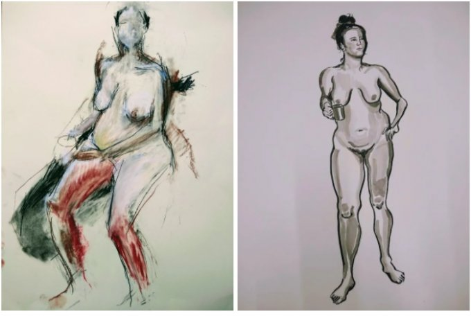 Online Arts Course: Life Drawing with a Range of Materials