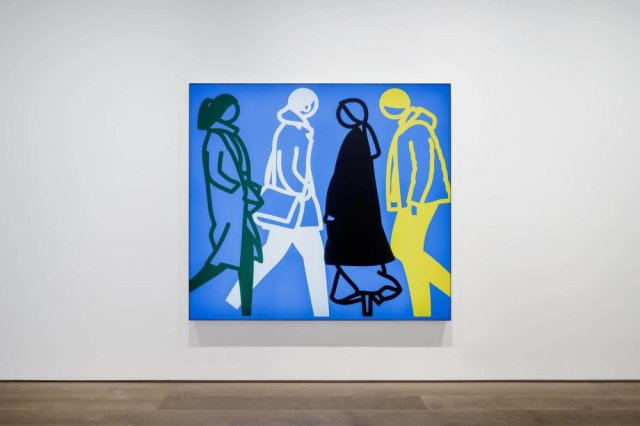 JULIAN OPIE AT LISSON GALLERY SHANGHAI
