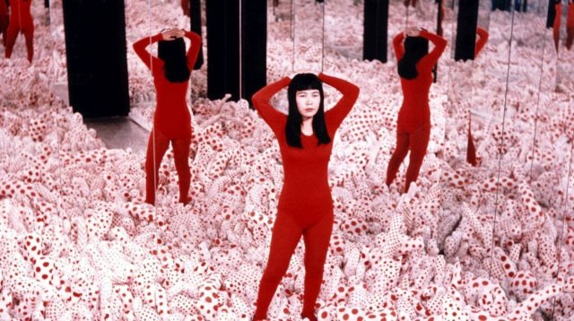 Yayoi Kusama: A Retrospective A Bouquet of Love I Saw in the Universe